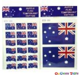 Australian Flag Temporary Tattoos