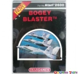 Bogey Blaster Atari 2600 Game New Sealed Rare