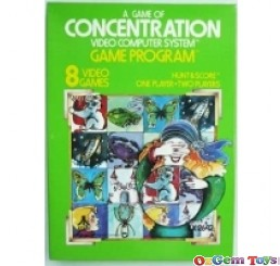 Concentrate Atari 2600 Game New Rare