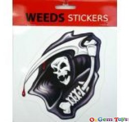 Car Decal Grim Reaper Sticker