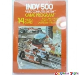 Indy 500 Atari 2600 Game New Sealed Rare