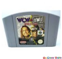 WCW vs NWO World Tour Nintendo 64 Game