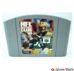 NFL Quarterback Club 98 Nintendo 64 Game
