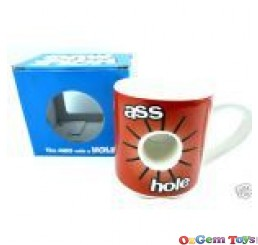 Novelty Mug Hole Mug Ass Hole