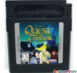 Quest for Camelot Game Boy Original Game