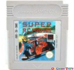 Super RC PRO AM Game Boy Original Game