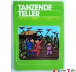 Tanzende Teller Atari 2600 Game New Rare