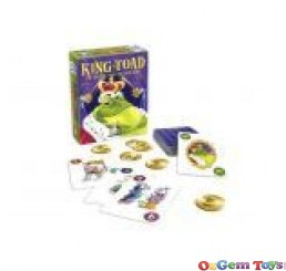 King Toad The Royally Ribbiting Card Game