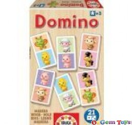 Wooden Dominos Sweet Animal Puzzle Educa