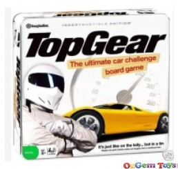 TOP GEAR The Ultimate Car Challenge Board Game Tin Case