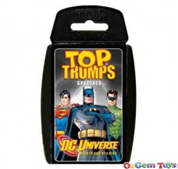 Top Trumps DC Universe Collectable Cards