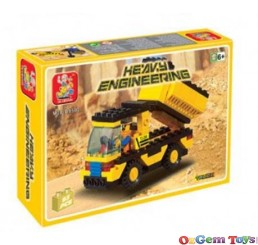 Truck Sluban Brick Building Set 93 Pieces