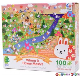 Where is Flower Moshi Ceaco Jigsaw Puzzle 100 Pieces