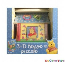 Winnie the Pooh 3D House Puzzle