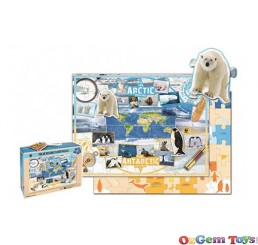 WWF Polar 49 Piece Floor Puzzle
