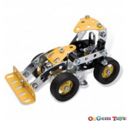 Yellow Meccano 3 Models