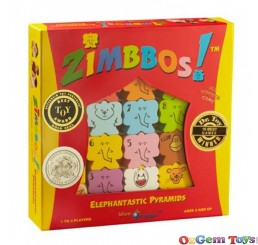 Zimbbos Elephantastic Pyramids Game